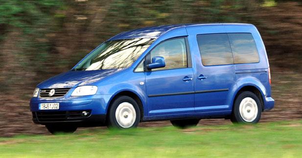 Essai VW Caddy Life BlueMotion : chariot écolo