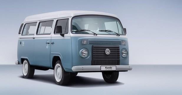 Volkswagen Combi : une série spéciale en guise d'adieux