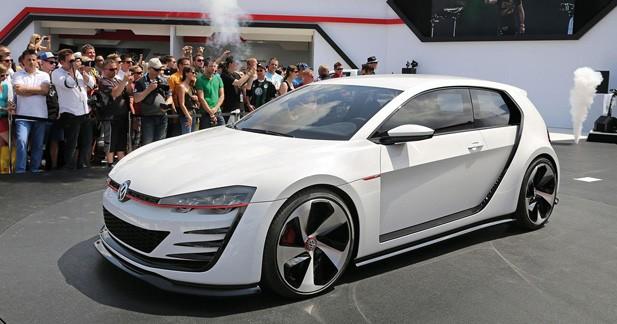 Design Vision GTI : une Golf taillée pour la course