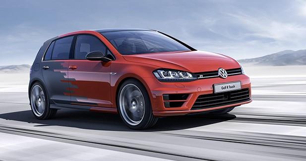 Volkswagen Golf R Touch Concept : les boutons, c'est fini pour elle