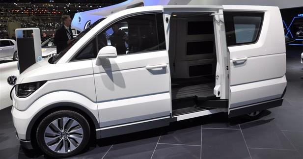 Volkswagen e-Co-Motion : Transpoteur sous tension