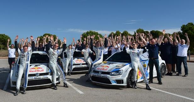 WRC – Espagne: Un doublé qui offre le titre à Volkswagen