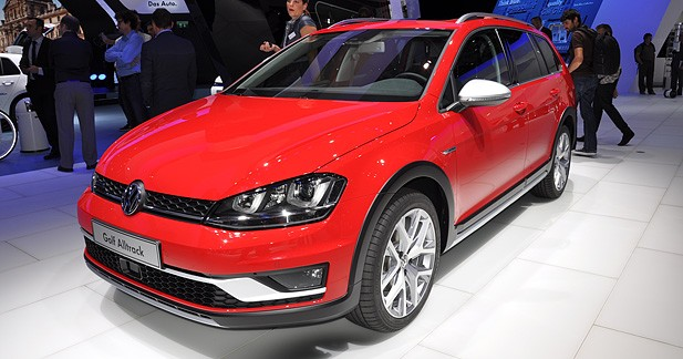 Mondial Auto 2014 : Volkswagen Golf Alltrack, le fond et la forme