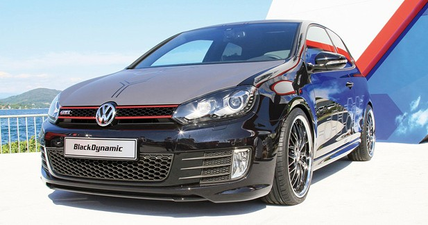 Volkswagen Golf GTI Black Dynamic et Concept White : Ange et Démon