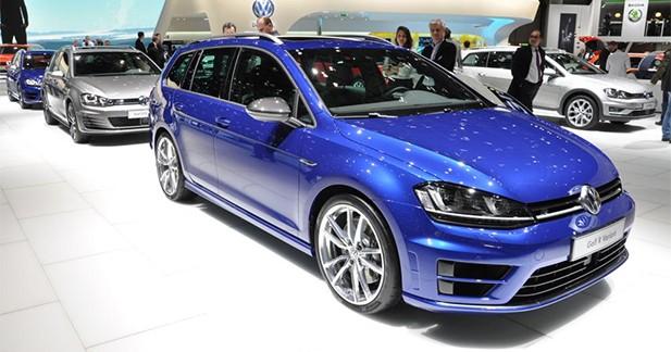 Volkswagen Golf R SW : fast life