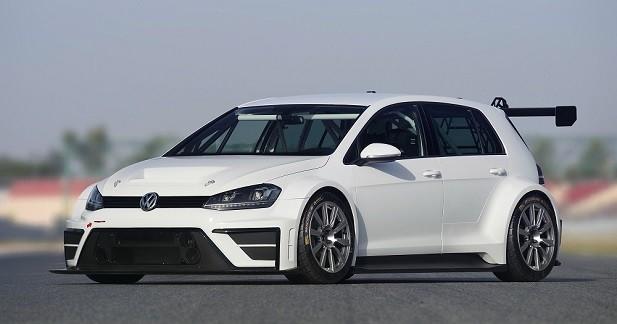 La Volkswagen Golf s'attaque à la compétition