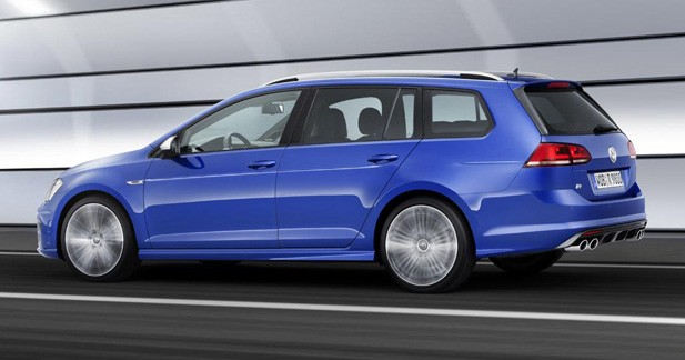 Volkswagen Golf VII RSW : break compact (très) sportif