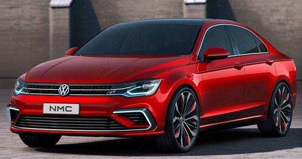 Volkswagen NMC : futur coupé ou simple berline ?