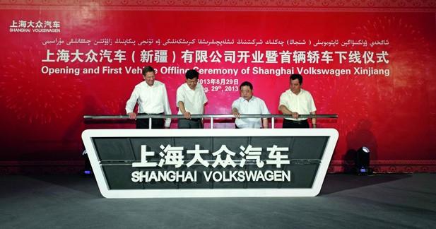 Volkswagen choisit la Chine pour sa 102ème usine