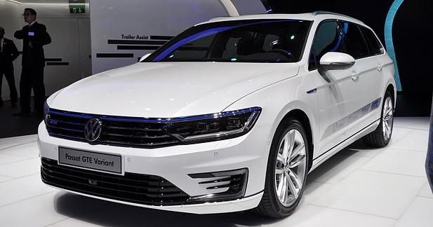 Mondial Auto 2014 : Volkswagen Passat GTE