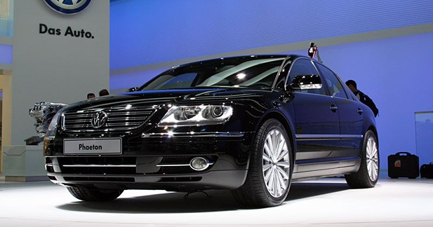 Volkswagen Phaeton restylée : pour barons chinois