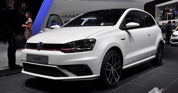 Mondial Auto 2014 : Volkswagen Polo GTI restylée, un cœur gros comme ça