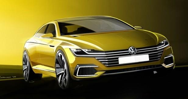 Volkswagen Sport Coupé GTE: le nouveau CC en filigrane