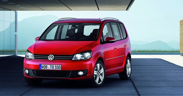Volkswagen Touran restylé : pince sans rire
