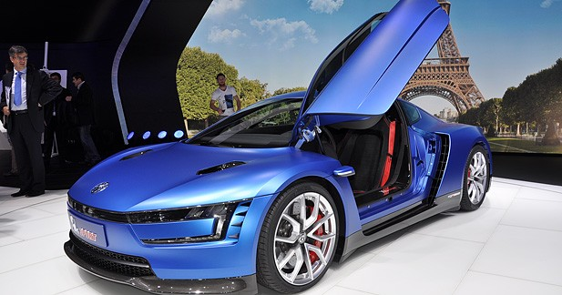 Mondial Auto 2014 : Volkswagen XL Sport, mini-bombe