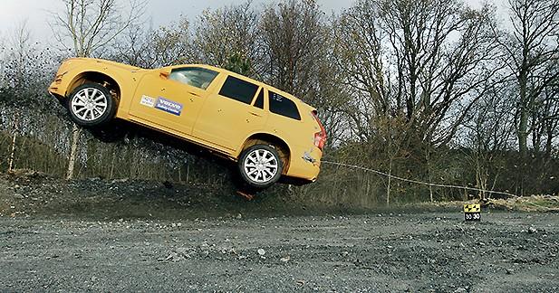 Quand Volvo lutte contre les accidents dus aux sorties de route