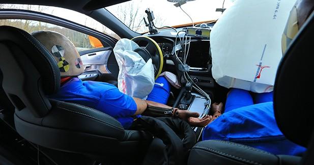 Des crash-tests spécifiques développés par Volvo
