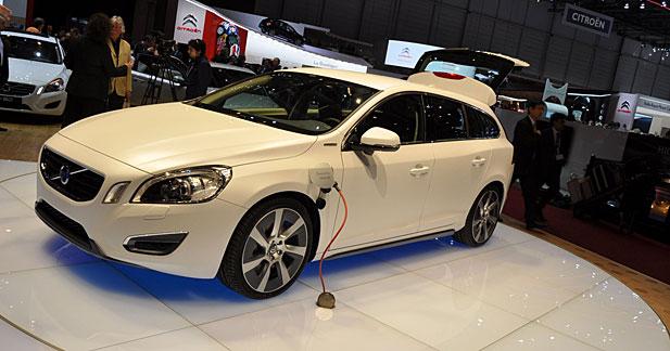 Volvo V60 Plug-in Hybrid : 50 km en tout électrique