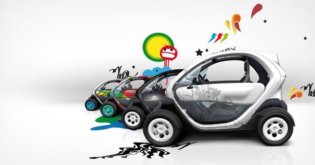 Un jeu-concours autour du design de la Renault Twizy