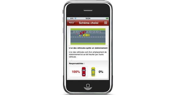 Accident : une application Smartphone pour établir son degré de responsabilité