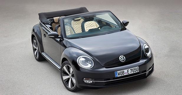 Volkswagen Beetle et Beetle Cabriolet Exclusive: la Coccinelle joue les coquettes