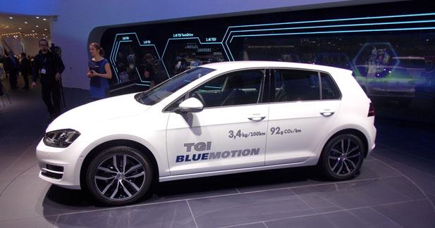 Golf TGI Blue Motion : la voiture de l'année sent le gaz