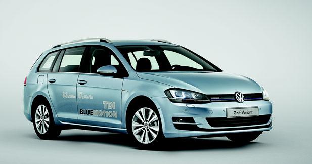 85 g et 3,2 L/100 km pour la Golf TDI BlueMotion
