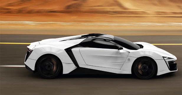 Lykan Hypersport : la supercar née au Moyen-Orient