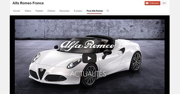 Alfa Romeo inaugure enfin sa chaîne YouTube