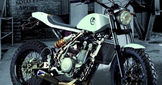 Zaeta 530, la plus déjantée des motos plaisirs en démo à la SRC !