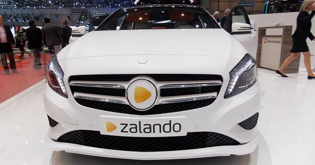 Zalando Fashion Car : La Classe A joue les cabines d'essayage à Genève