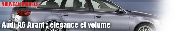 Audi A6 Avant : élégance et volume