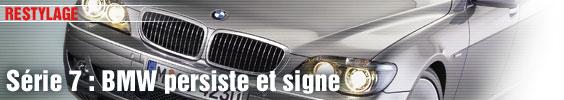 Série 7 : BMW persiste et signe