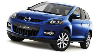 Mazda CX-7 : la version européenne au Mondial de Paris