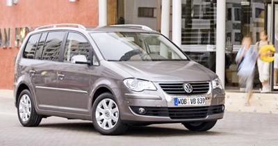 Plus de finesse pour le Volkswagen Touran restylé