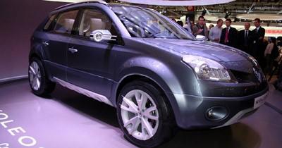 Koleos Concept : le premier SUV de Renault
