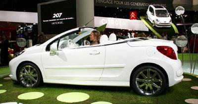 Peugeot 207 Epure : de l'air dehors, de l'eau dedans