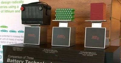 Objectif 500 miles (800 km) pour les batteries électriques