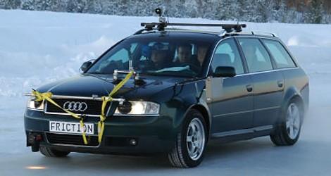 Projet Friction : des capteurs pour déjouer les routes verglacées