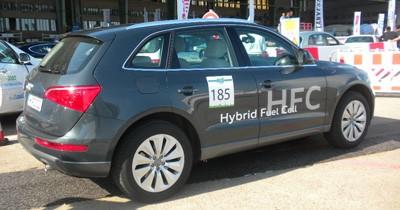 L'hydrogène rivalise avec l'électrique au Challenge Bibendum