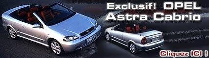 Une Astra Cabriolet à déguster toute l'année