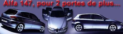 Alfa 147, pour deux portes de plus
