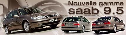 Nouvelle gamme Saab 9-5