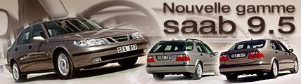 Nouvelle gamme Saab 9-5