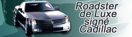 Roadster de luxe signé Cadillac