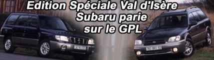 Subaru parie sur le GPL