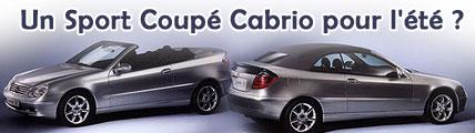Un Sport Coupé Cabrio pour l'été ?