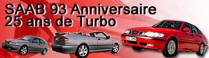 La Saab 9-3 Anniversaire célèbre 25 ans de turbo