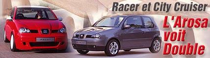 Racer et City Cruiser: l'Arosa voit double