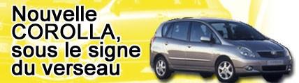 Nouvelle Avensis, sous le signe du Verso